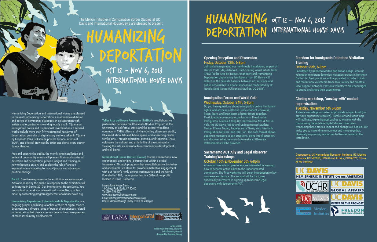 Humanizing Deportation Flyer