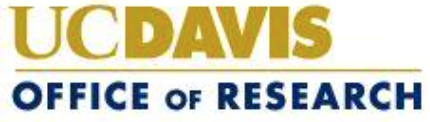 UC Davis Office of Research logo