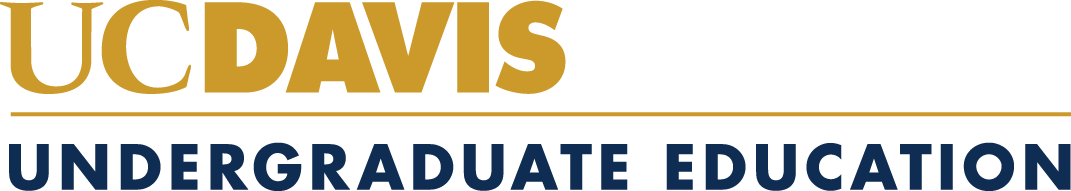 UC Davis Undergraduate Education logo