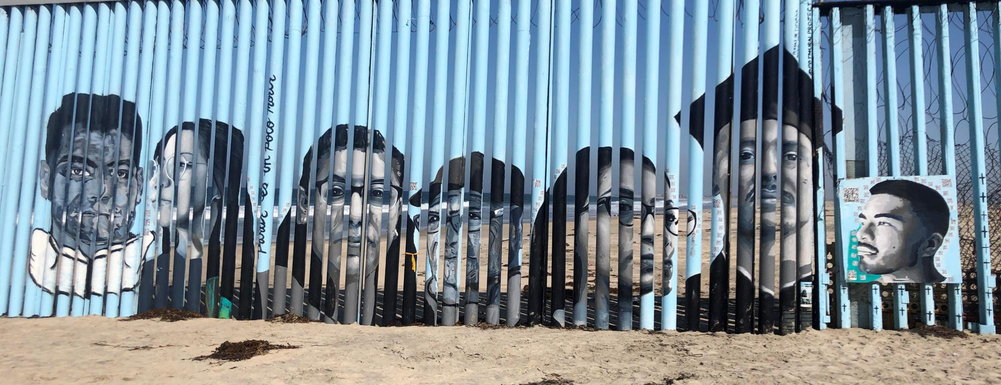 Border Mural by Lizbeth De La Cruz Santana